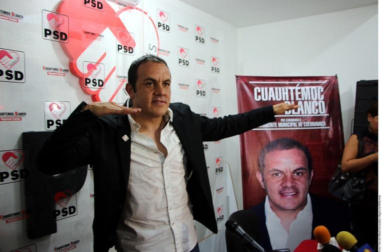 Como usted lo vio en el cine, Cuauhtémoc Blanco, ¿presidente municipal?