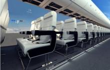 Marketing experiencial: Desarrollan un avión… ¿sin ventanas?