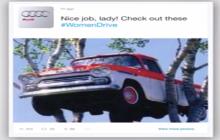 Marketing social de Audi en favor de las mujeres al volante