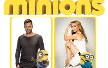Universal Pictures presenta Minions con las voces de Thalía y Ricky Martin