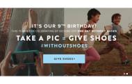 #WITHOUTSHOES, campaña social de los zapatos Toms