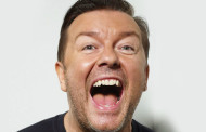 El cómico Ricky Gervais promociona Netflix en Australia