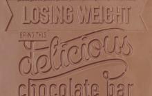 Marketing directo: Un flyer hecho de chocolate