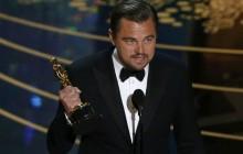 El discurso de DiCaprio que también funciona como campaña política