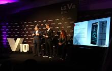 El jugador de futbol Fernando Torres presenta el nuevo LG