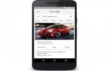 Google incorpora los anuncios de carrusel en las búsquedas en móvil