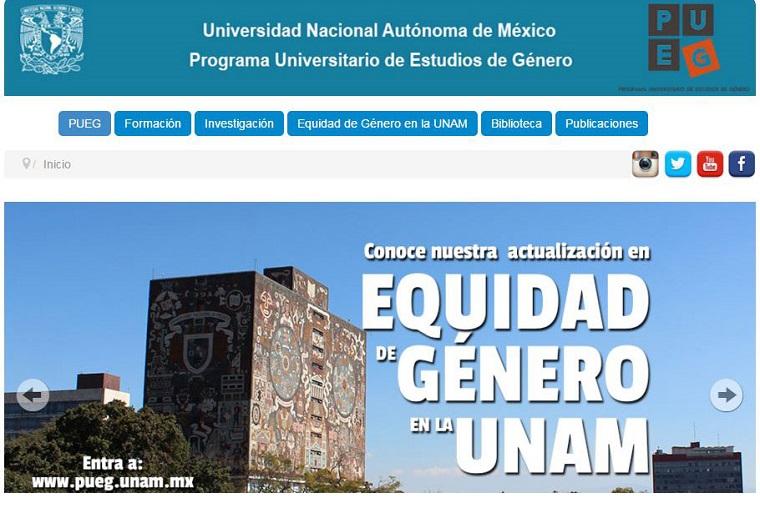 UNAM lanza sitio web 'Equidad de género'