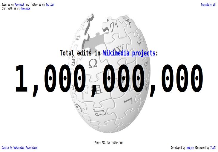Fundación Wikimedia mantiene Wikipedia con campaña de recaudación