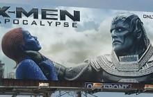 El polémico billboard de X-Men