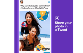 #Stickers promovidos en Twitter