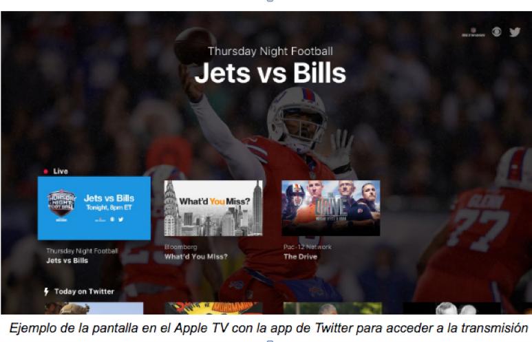 Twitter transmitirá en VIVO juegos de la NFL en México