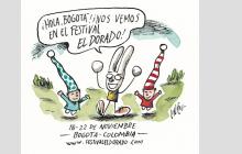 FESTIVAL ELDORADO_2016 El ilustrador Liniers será speaker y realizará una intervención en vivo en el Festival ElDorado_2016
