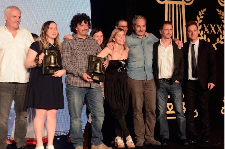Metrópolóis Films es la productora del año en la Campana de Oro