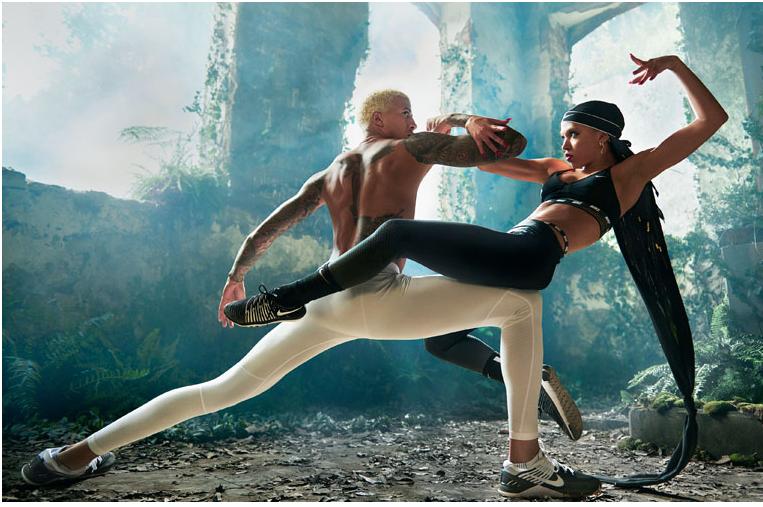 FKA Twigs y Nike lanzan campaña de la mano de atletas