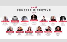 El consejo directivo de la AMAP para 2017
