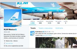 KLM realiza el próximo paso estratégico digital con información de vuelos en Twitter y WeChat