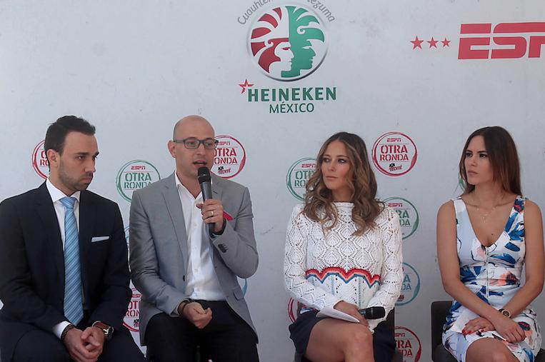 """ESPN y CM/HEINEKEN México presentan su nuevo show """"OTRA RONDA"""""""
