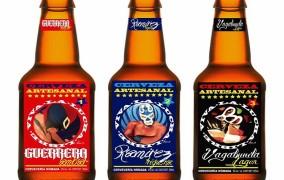 Cervecería Nómada, mezcla arte y lucha libre