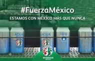 Por sismo, Heineken México cambia la cerveza por agua