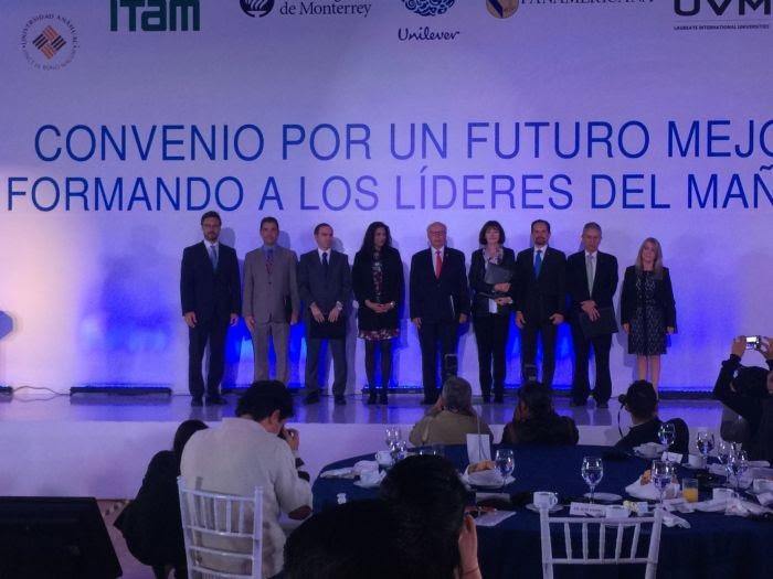 Unilever firma convenio con seis instituciones académicas de México