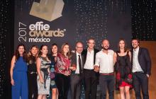 MONTALVO brilla en la entrega de los  Effie Awards 2017 llevándose 4 premios