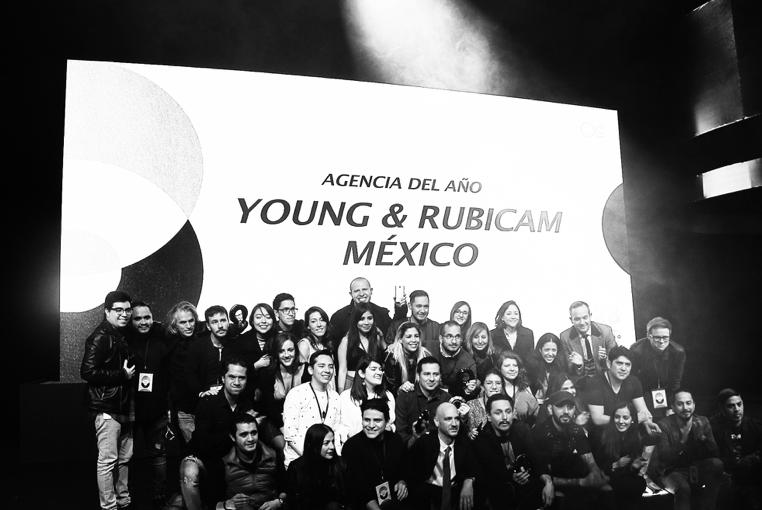 Young and Rubicam México agencia del año en el Círculo de Oro 2018