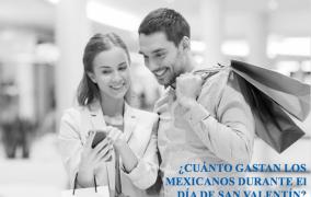El 57% de los mexicanos gastará entre $730 y $2,000 pesos el día de San Valentín