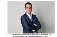Gerardo Vélez es nombrado como Head Entertainment Content Partnerships de Twitter para Latinoamérica