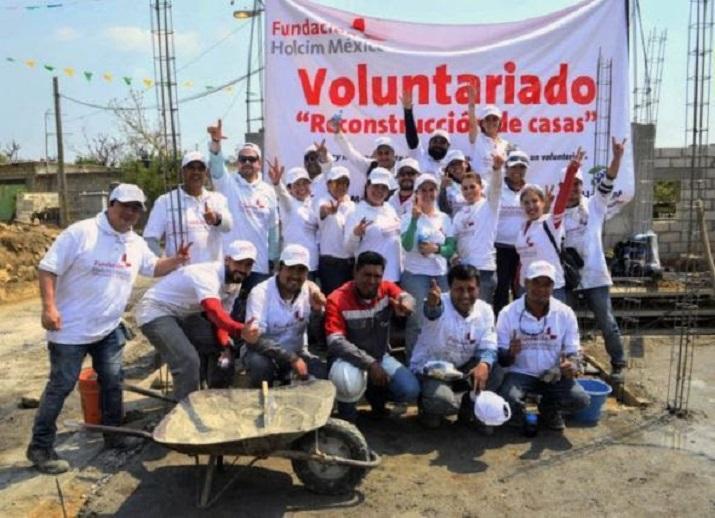 Fundación Holcim ayuda a la reconstrucción de hogares afectados por S-19