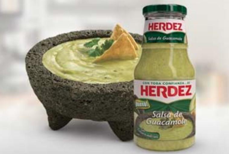 Salsa de Guacamole Herdez, el ingrediente ideal parar saborear la pasión futbolera en un abrir y cerrar de tapa.