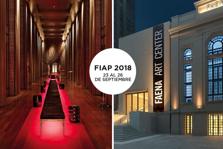 El FIAP 2018 se realizará en el Faena y el Faena Art Center. Ya está abierta la inscripción