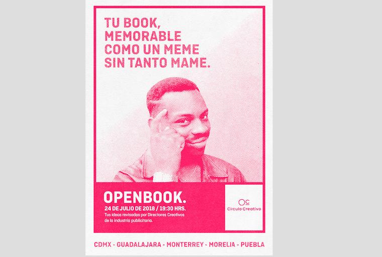 El Círculo Creativo de México lanza el Open Book 2018: una noche de revisión de portfolios a nivel nacional.