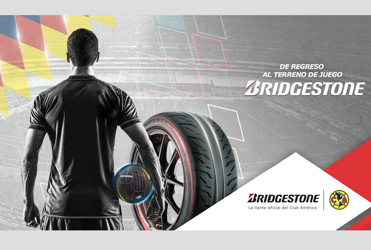 Brigdestone y el Club América se unen para alcanzar el máximo desempeño en la cancha
