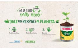"""""""Recicla la lata"""" un compromiso de Herdez® por México y el planeta, regresa este 2018"""