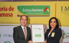 Bodega Aurrera recibe declaratoria de Marca Famosa que otorga el IMPI