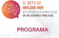 Arranca mañana el 11º Congreso internacional Relaciones Públicas