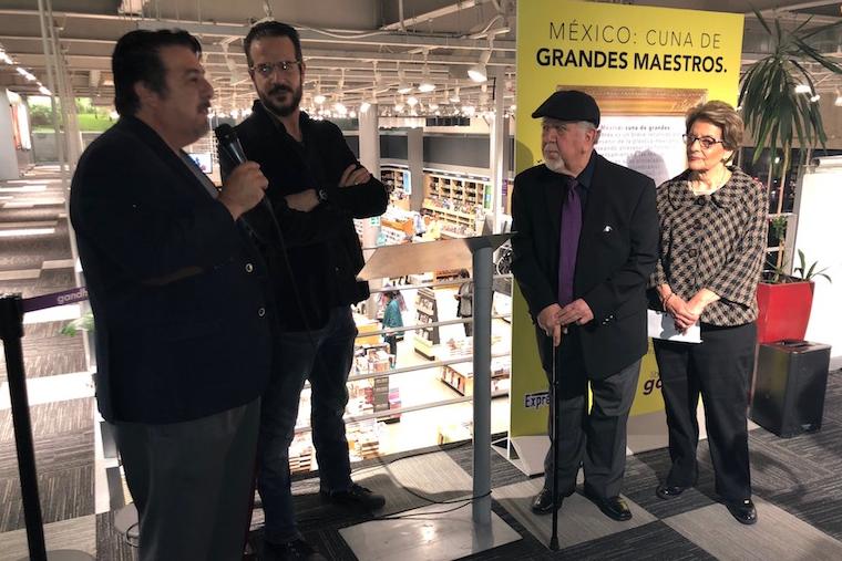 Librerías Gandhi inaugura la galería Expresarte Mauricio Achar, con la exposición «México: Cuna de grandes Maestros»