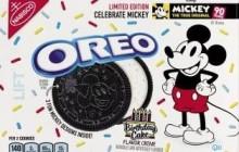 Oreo crea galleta por 90 años de Mickey Mouse