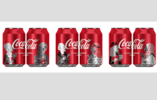 Geometry crea un diseño de envase global para Coca-Cola