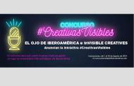 inVisible Creatives y El Ojo de Iberoamerica anuncian  el concurso #CreativasVisibles en el escenario